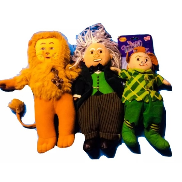 Wizard of Oz Puppets ~ Wizard Scarecrow & Munchkin